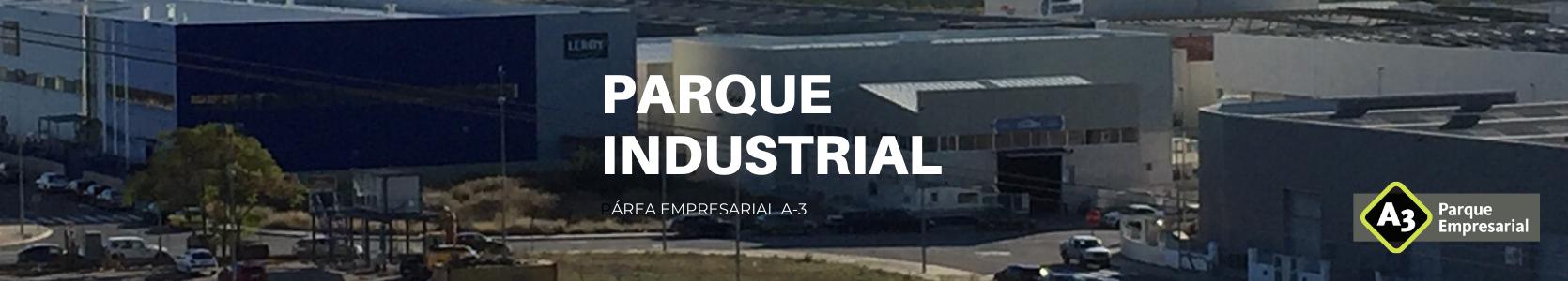 Banner Parque Industrial Loriguilla