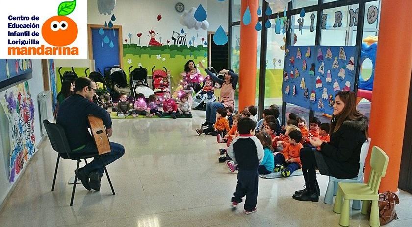 La Escuela Infantil Mandarina de Loriguilla celebra el Día de la Paz