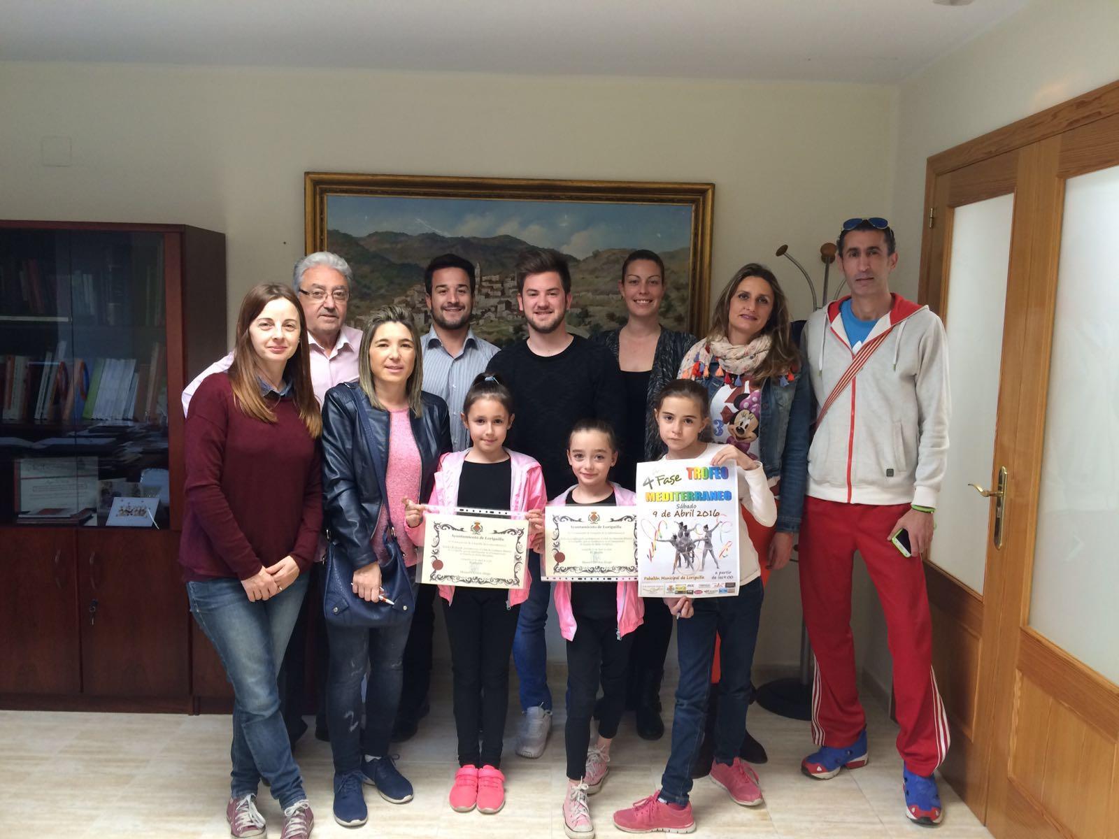 El Ayuntamiento de Loriguilla subvenciona al Club de Gimnasia Rítmica Loriguilla