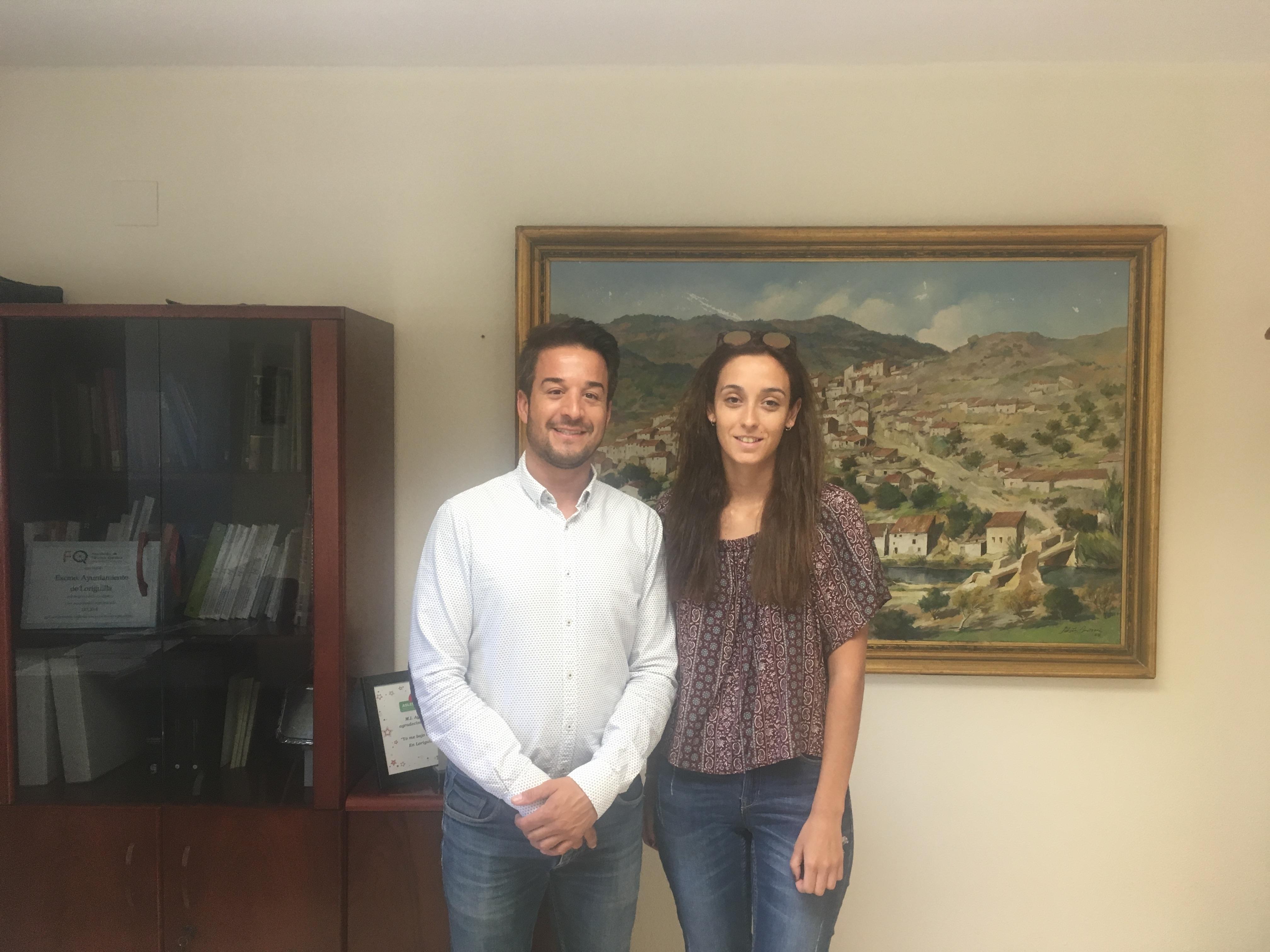 El Ayuntamiento de Loriguilla recibe una estudiante en prácticas de Gestión y Administración Pública