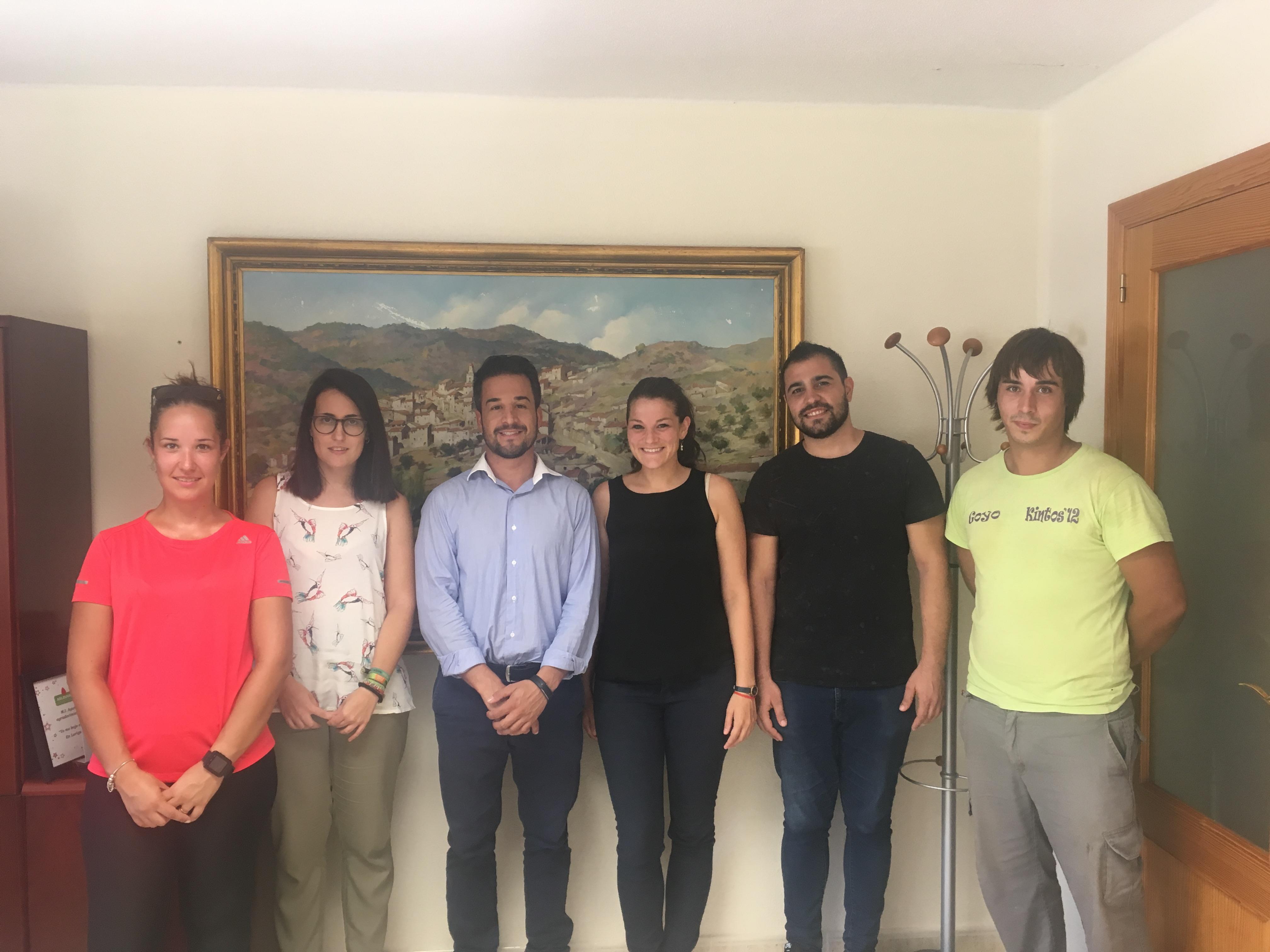 El Ayuntamiento de Loriguilla inicia los programas de Fomento de Empleo Joven 2017