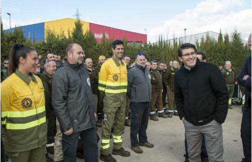 La Diputación contratará a los brigadistas atendiendo a los principios de publicidad, mérito y capacidad