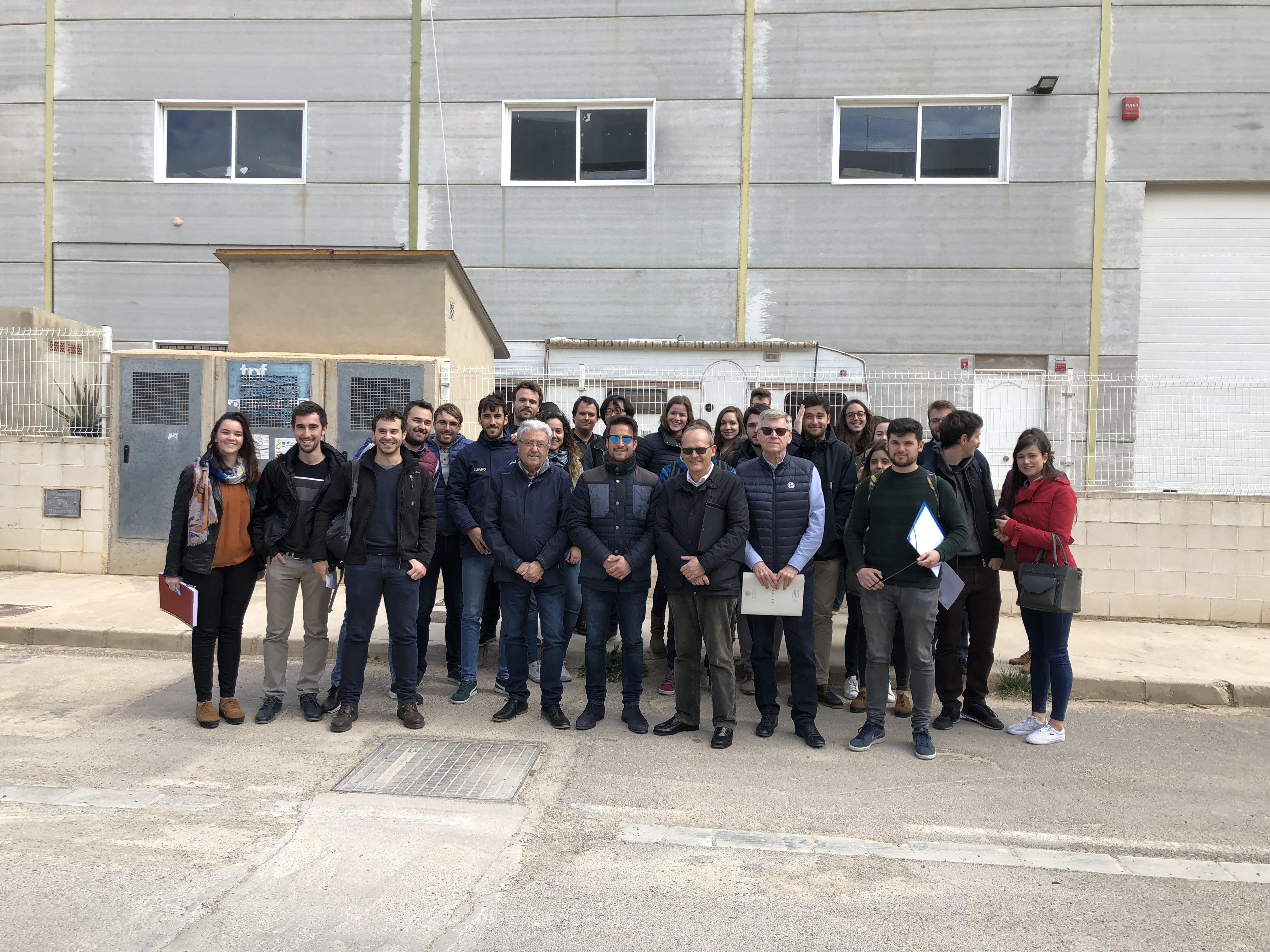 Los alumnos del Máster en Ingeniería Industrial de la UPV visitan ...