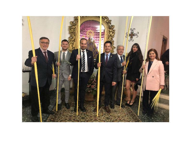 Loriguilla celebra el Domingo de Ramos que abre la Semana Santa