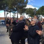 Numerosos vecinos asistieron al primer acto del 50 aniversario del traslado