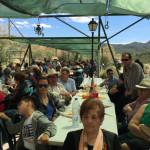 Cerca de quinientos vecinos asistieron a la Romería del cincuentenario