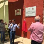 El Ayuntamiento de Loriguilla coloca una placa conmemorativa del 50 aniversario