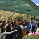 Los asistentes disfrutaron de una comida típica valenciana