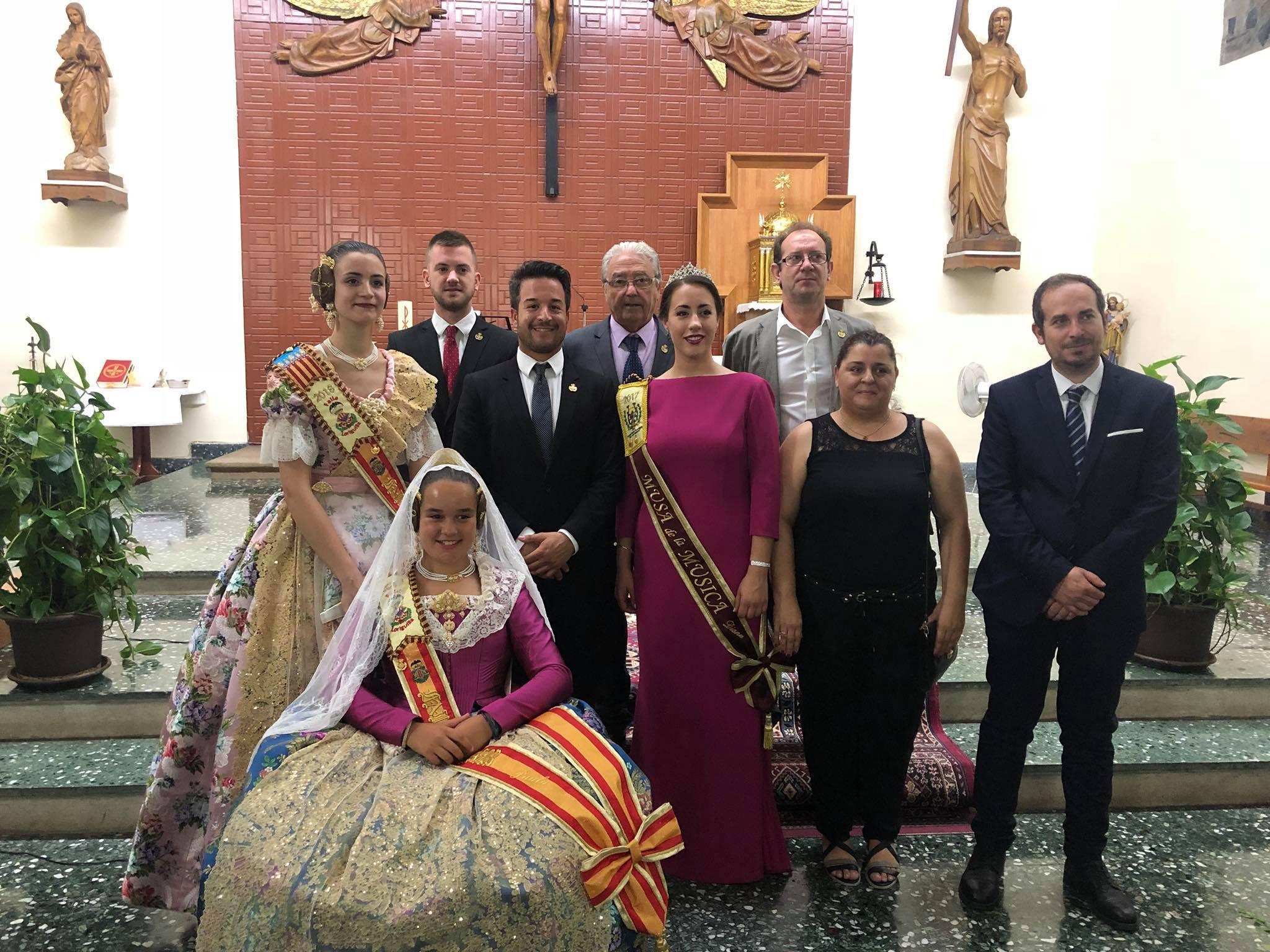 La procesión en honor a San Juan Bautista pone el broche a  las Fiestas Patronales