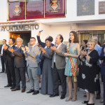 Autoridades Desfile de Bandas 50 Aniversario del traslado