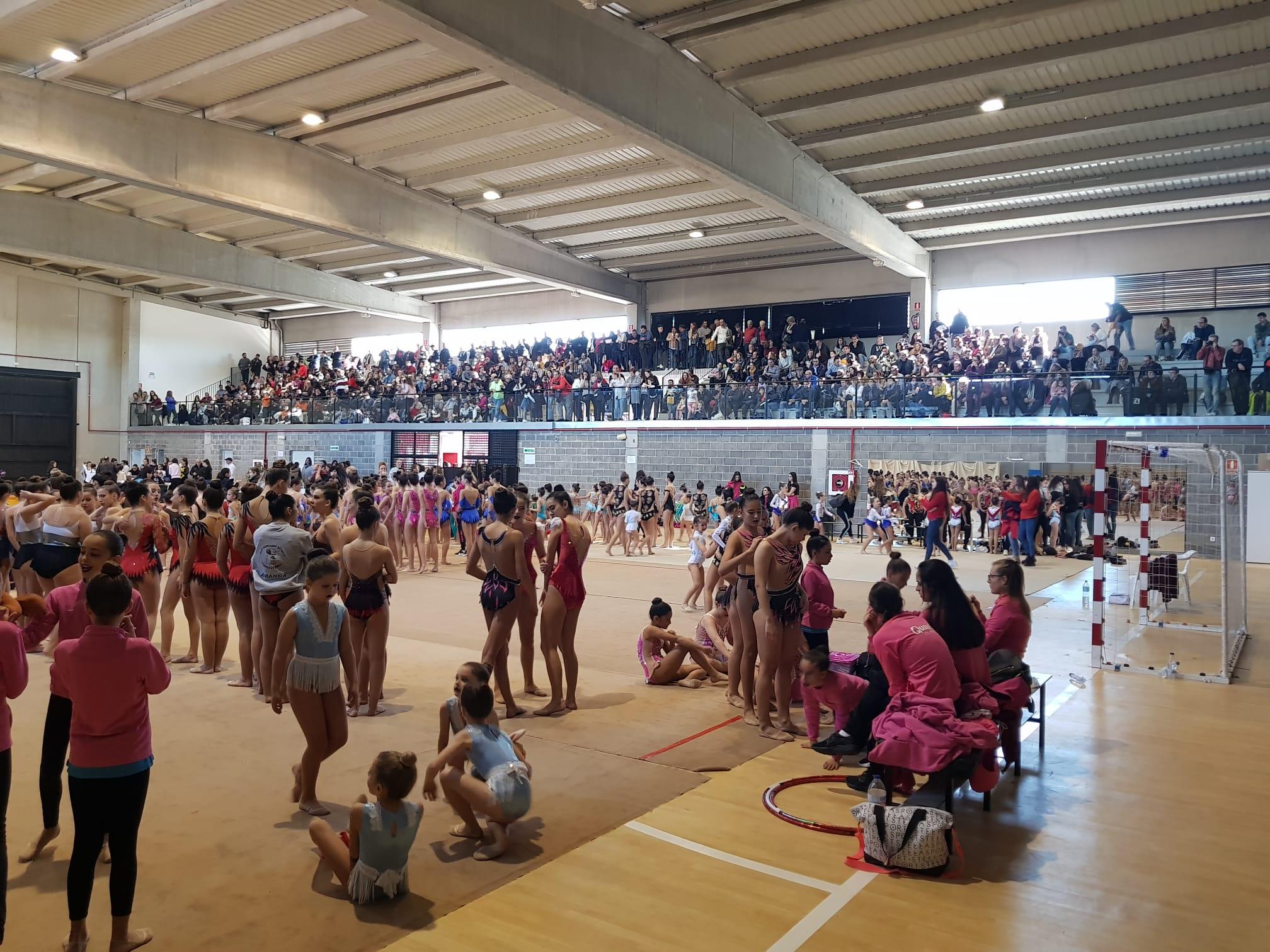 Loriguilla acoge la final del Torneo Interclubs de Gimnasia Rítmica