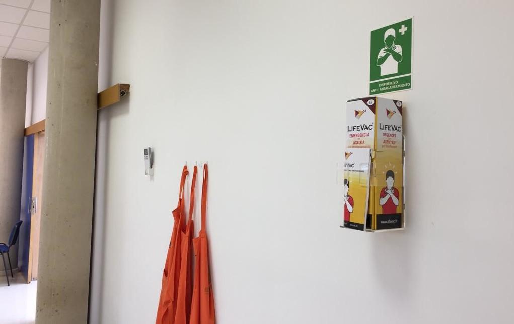 La escuela Mandarina cuenta ya con un dispositivo anti-atragantamiento