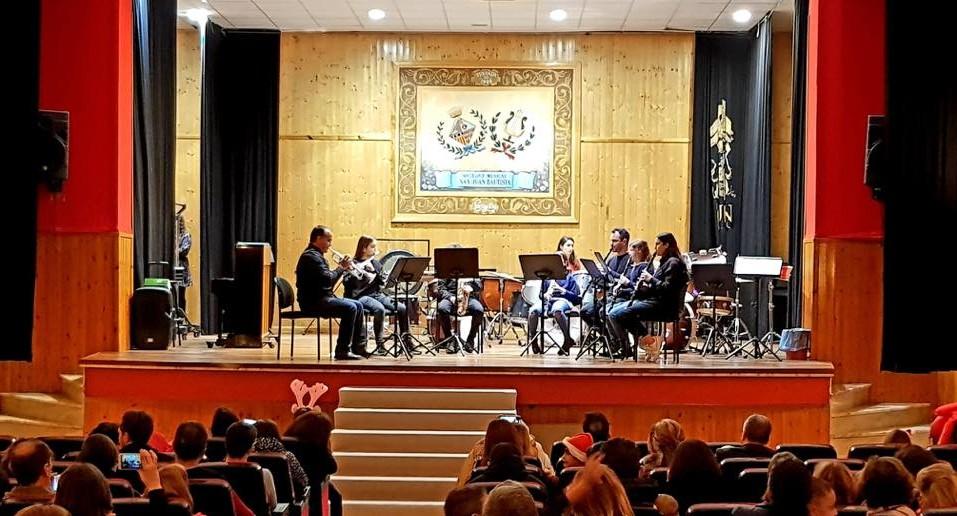 La Escuela de Música celebra su tradicional Audición de Navidad