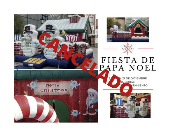 El fuerte viento obliga a cancelar la Fiesta Especial de Papá Noel