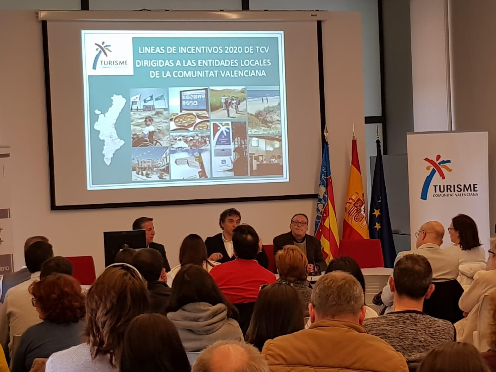 Loriguilla asiste a la presentación de las ayudas de Turismo para 2020