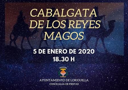 Los Reyes Magos visitarán Loriguilla el próximo domingo