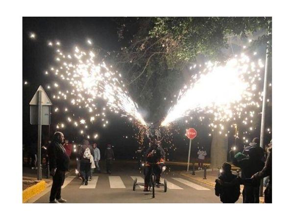 La Fiesta de San Antón de Loriguilla se topa con el temporal