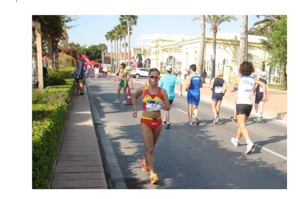 Isabel Huertos Esquerdo acaba quinta en el Campeonato de España Máster de 20 km Marcha