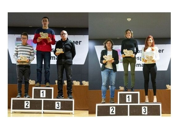 La Gala del Deporte de Camp de Túria premia a Juan Hortelano y Carolina Faurí