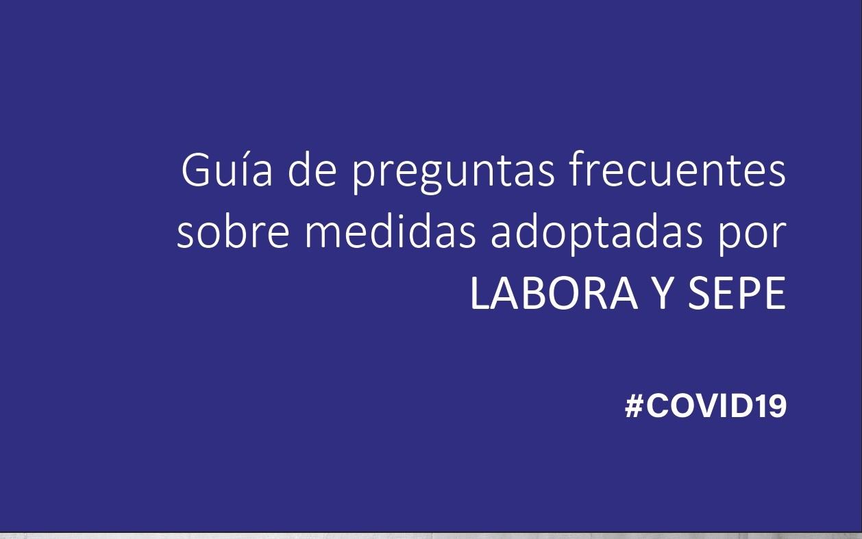 Guía Informativa para la inscripción de personas desempleadas y prestaciones por el Covid19