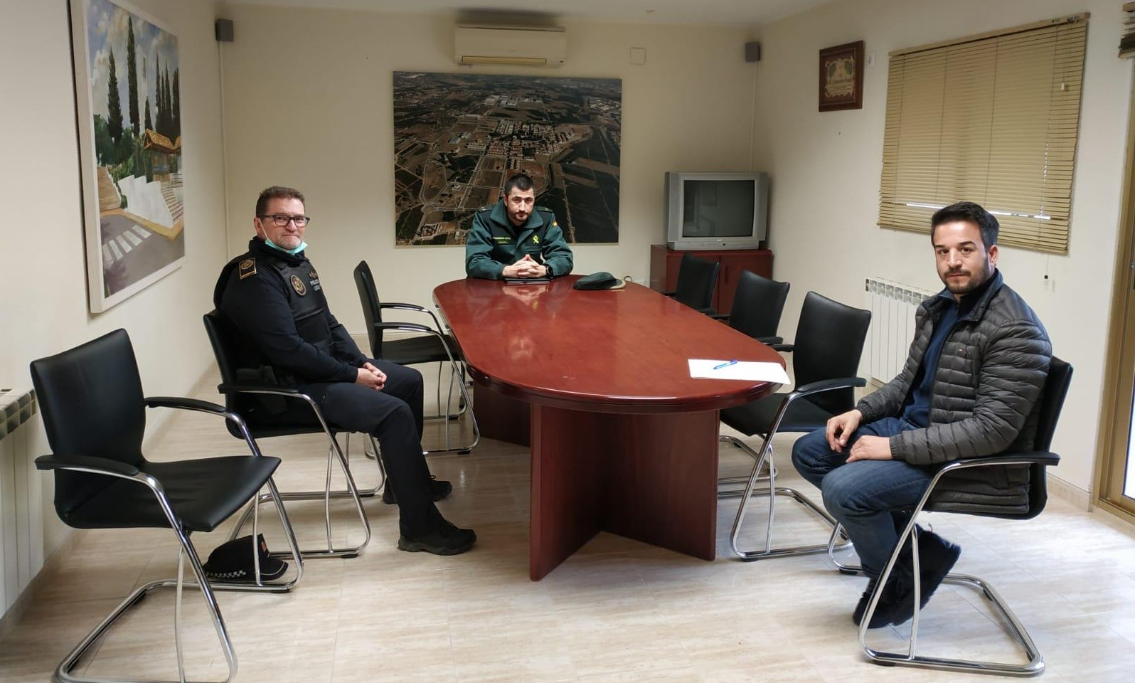 Loriguilla refuerza su seguridad con dos nuevos agentes locales y una patrulla permanente de la Guardia Civil