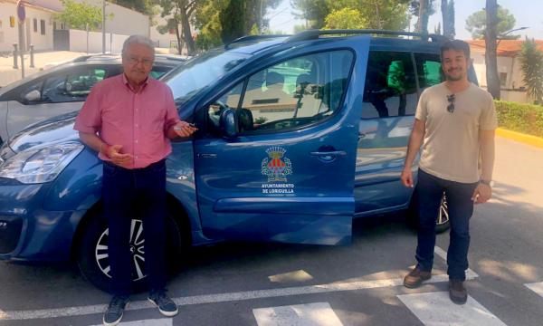Loriguilla incorpora un coche eléctrico a su parque móvil municipal