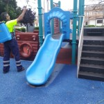 Desinfección Parque Infantil