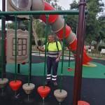 Desinfección parque