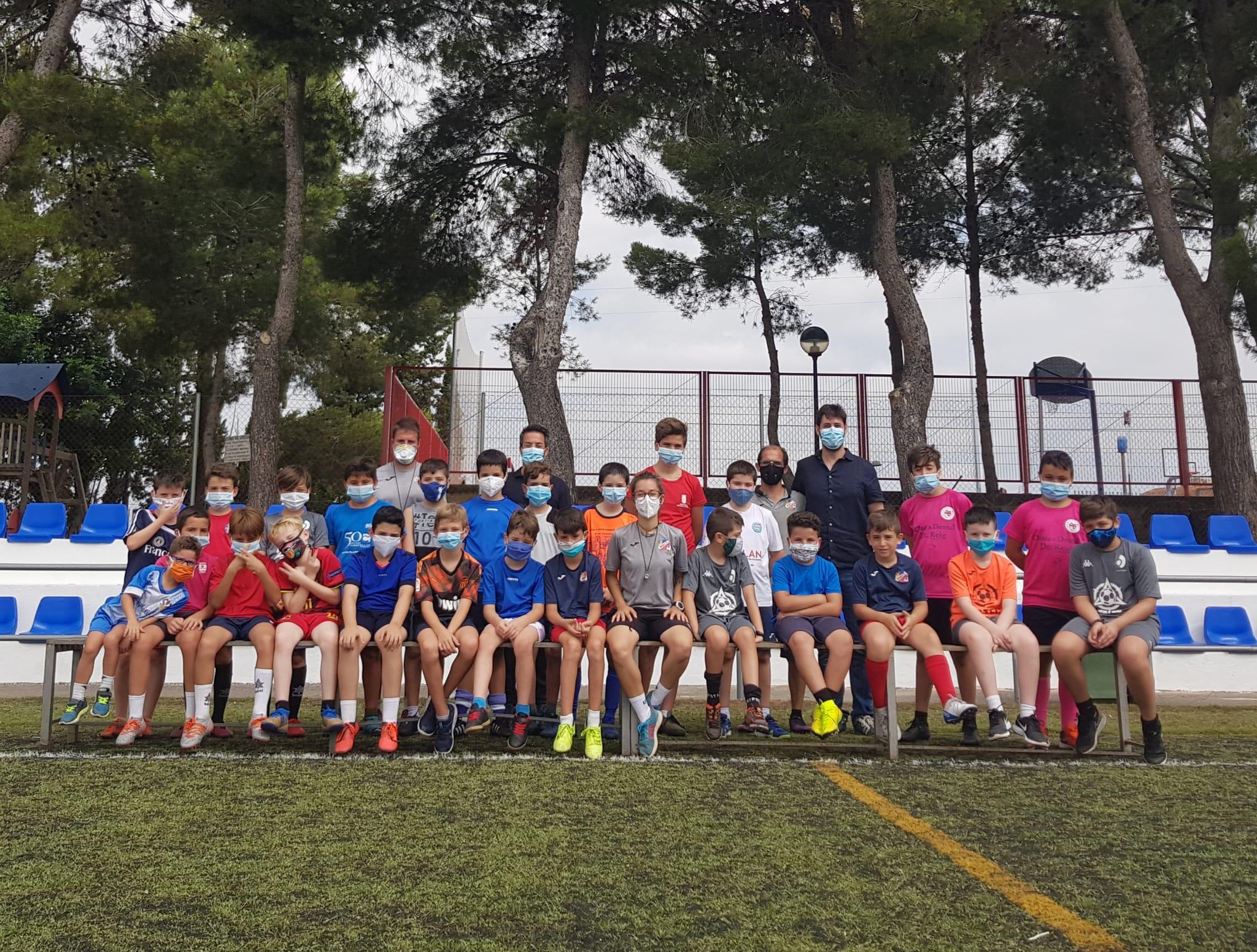 Arranca el Campus de Verano de fútbol de Loriguilla