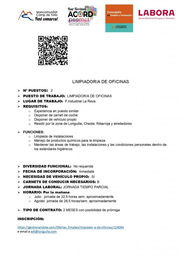 LORIGUILLA OFERTA TRABAJO PORTAL EMPLEO-Limpiador-a oficinas_page-0001