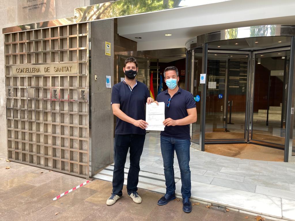 Loriguilla registra 700 firmas en la Conselleria de Sanidad para pedir la apertura total del ambulatorio