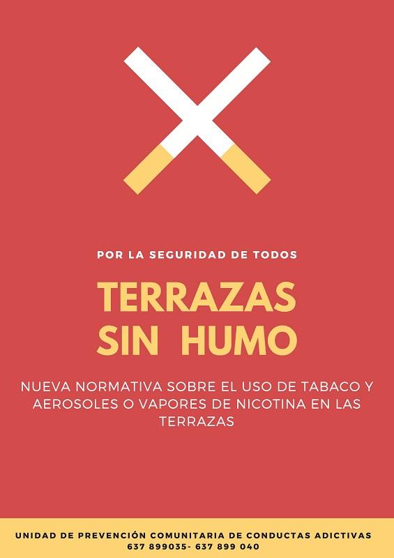 """La UPCCA de la Mancomunitat apuesta por el lema """"Terrazas sin humo"""" para el mes de septiembre"""