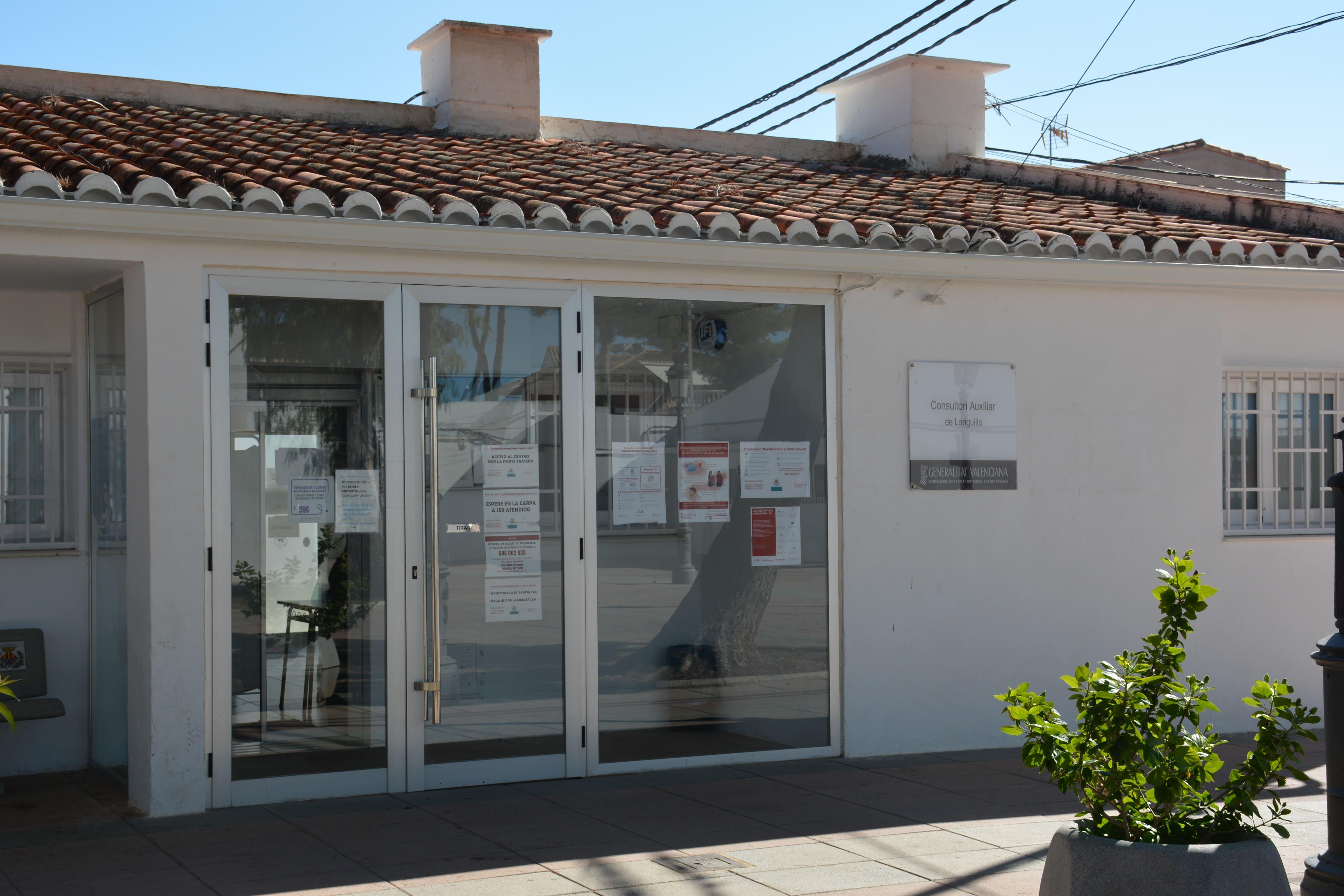 El centro médico de Loriguilla realizará extracciones de sangre y curas a diario