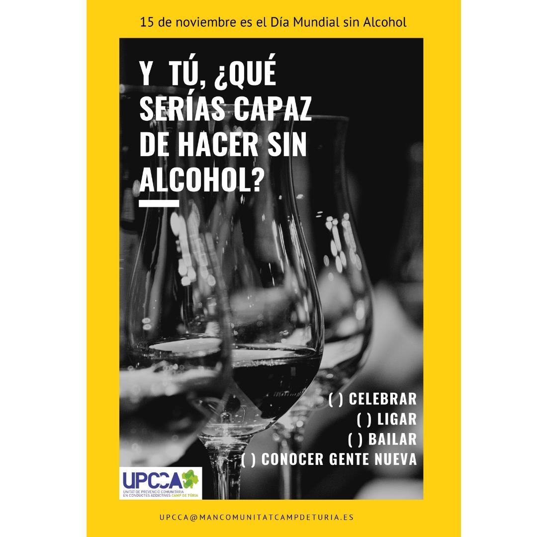 Loriguilla se suma a la conmemoración del Día Mundial sin Alcohol
