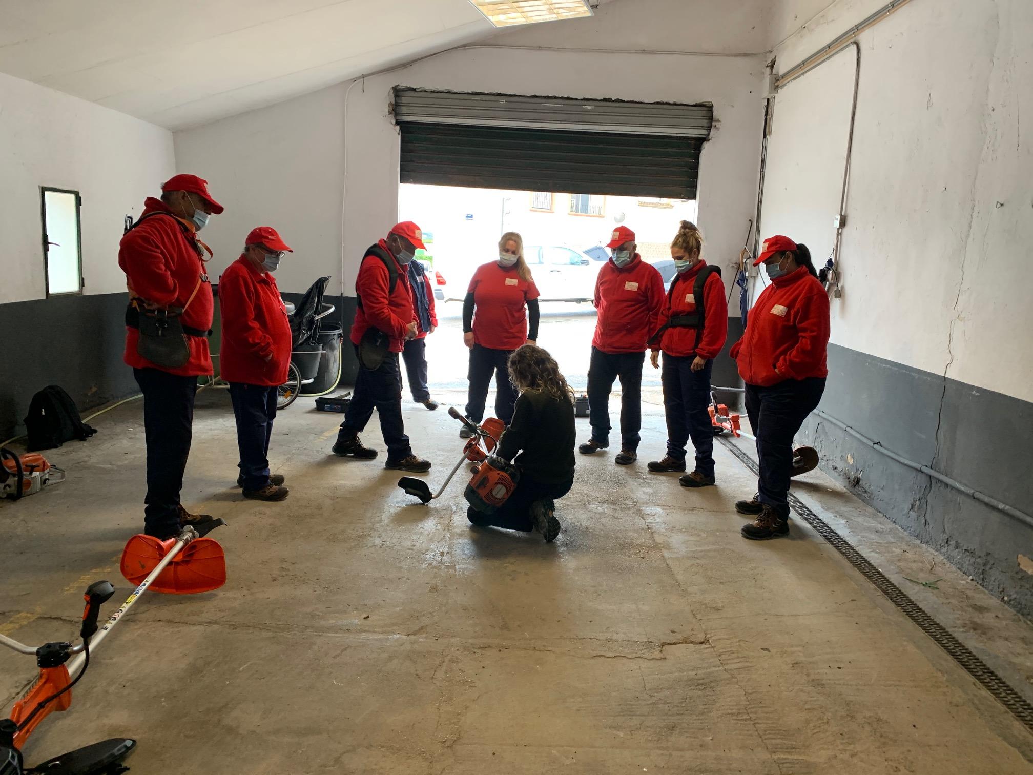 El Ayuntamiento de Loriguilla contrata a ocho personas desempleadas a través del programa EMERGE