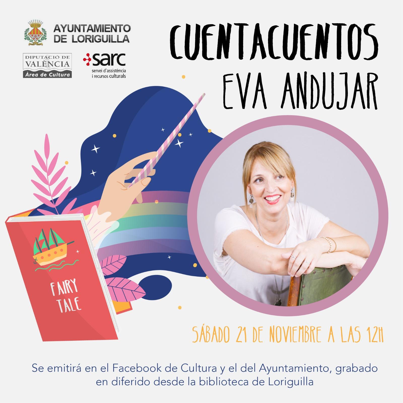 Loriguilla programa un cuentacuentos virtual en sus redes sociales el sábado 21 a las 12:00 horas
