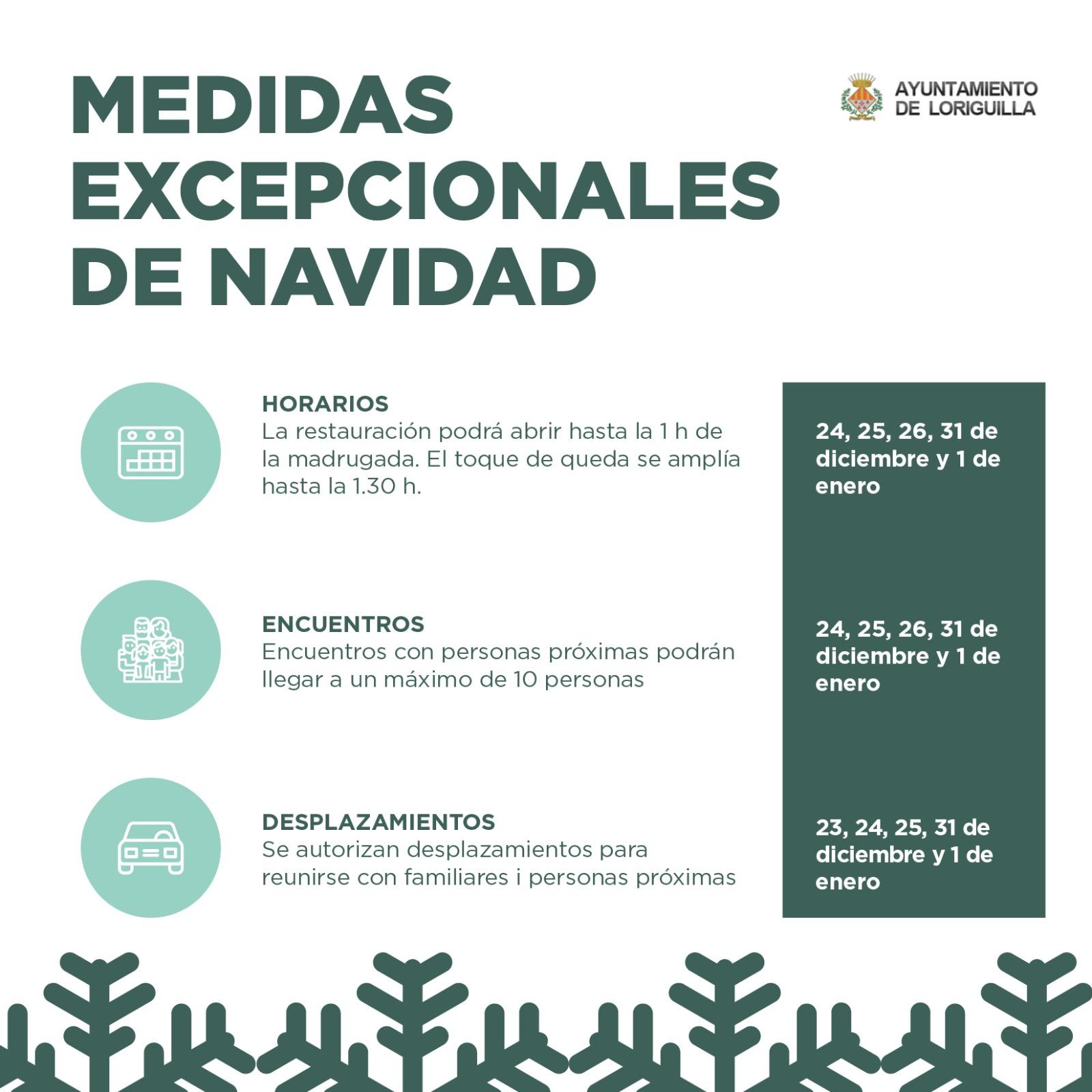 Nuevas medidas y restricciones para la Navidad en la Comunidad Valenciana