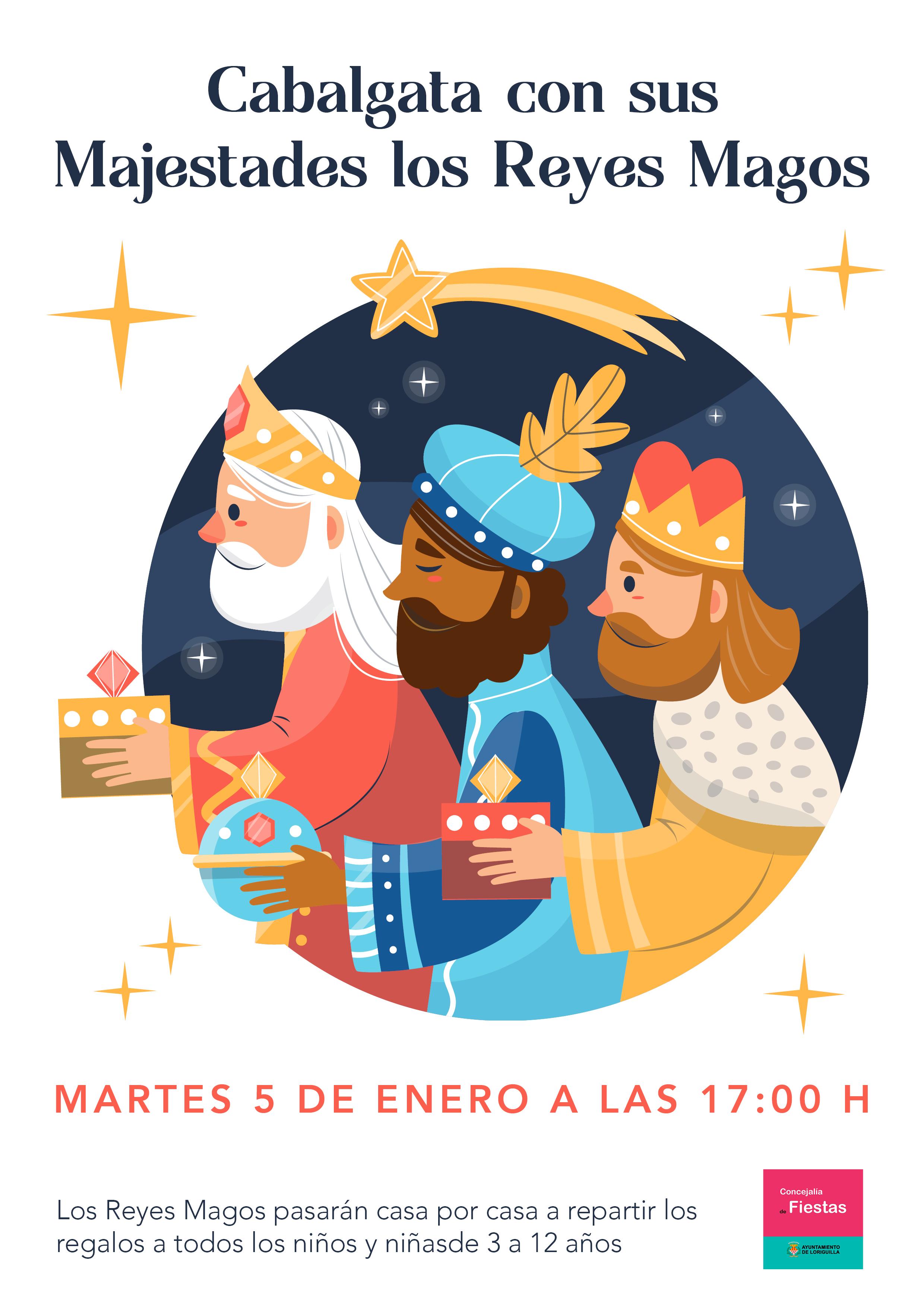 Loriguilla celebrará su tradicional cabalgata de Reyes cumpliendo con todas las medidas de seguridad