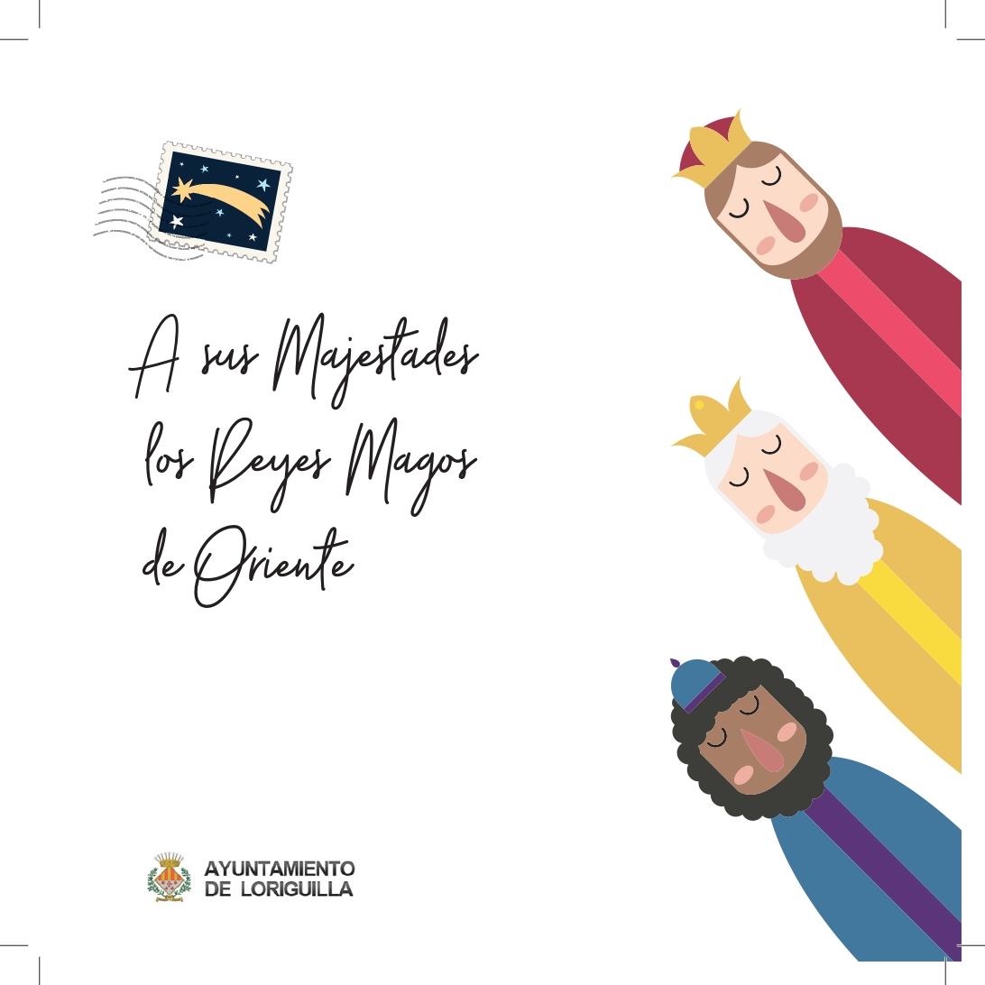 Loriguilla entrega una carta de los Reyes Magos a todo el alumnado del pueblo junto a un regalo