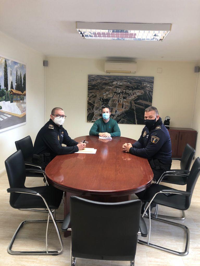 La Policía Local de Loriguilla extremará los controles para hacer cumplir las normas COVID