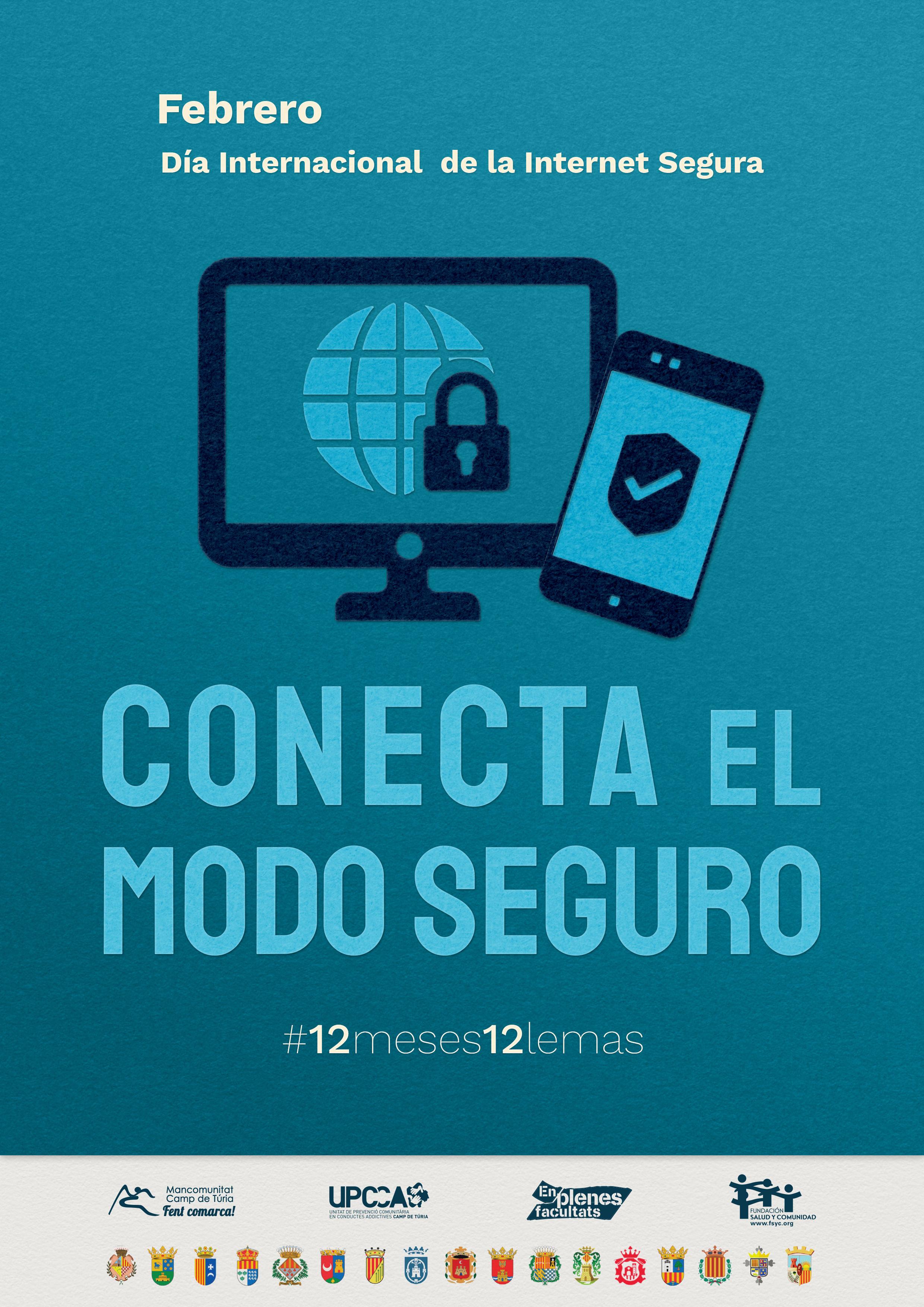 Loriguilla se suma a la campaña #12Meses12Lemas de la UPCCA y anima a la ciudadanía a disfrutar de Internet de un modo seguro