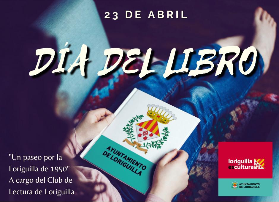 Loriguilla celebra el Día del Libro con varias acciones como la publicación de un emotivo vídeo