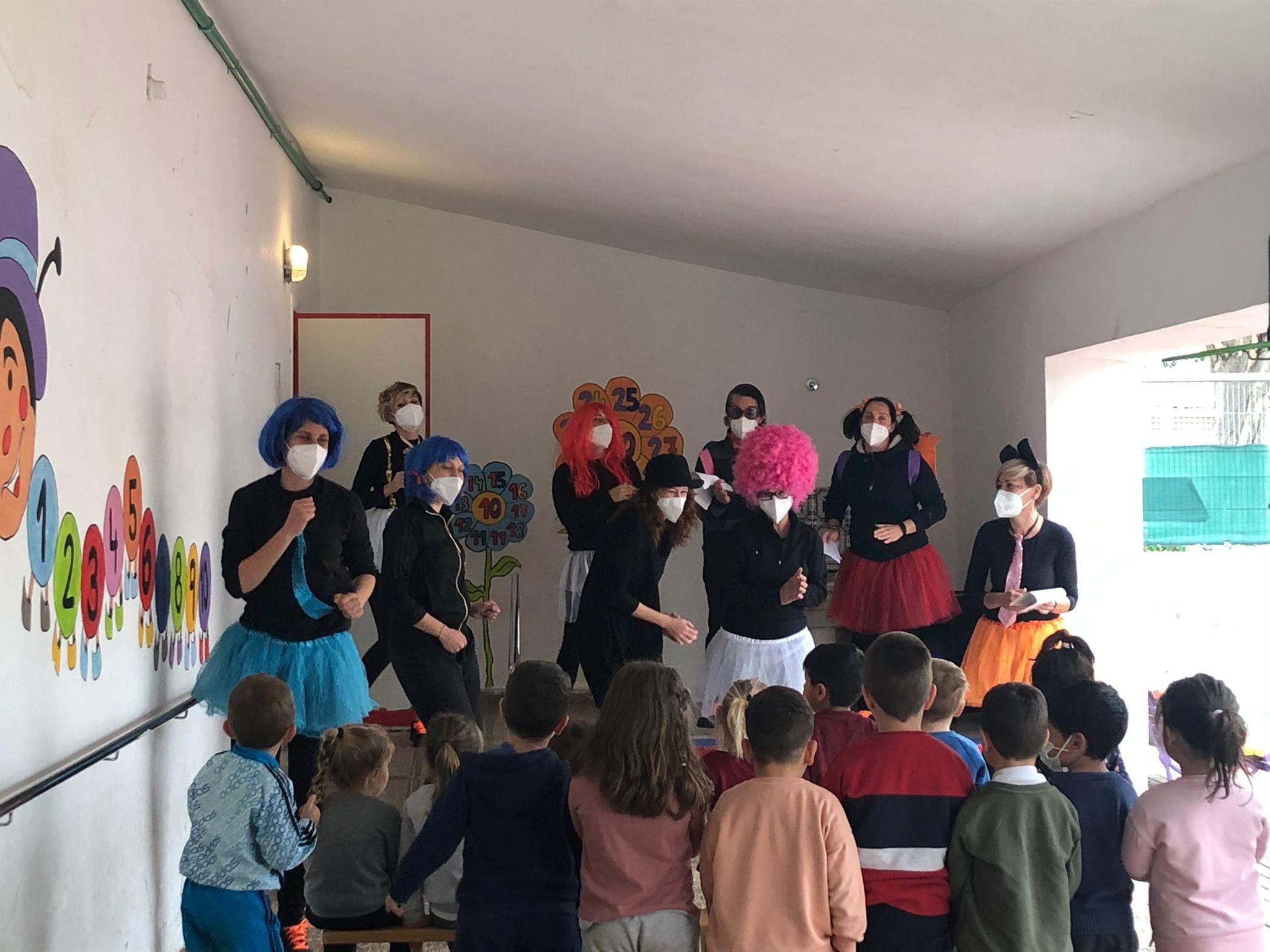 El alumnado del Taller de Empleo representará la obra de teatro Las Palabras Mágicas en el CEIP Mozart todos los jueves