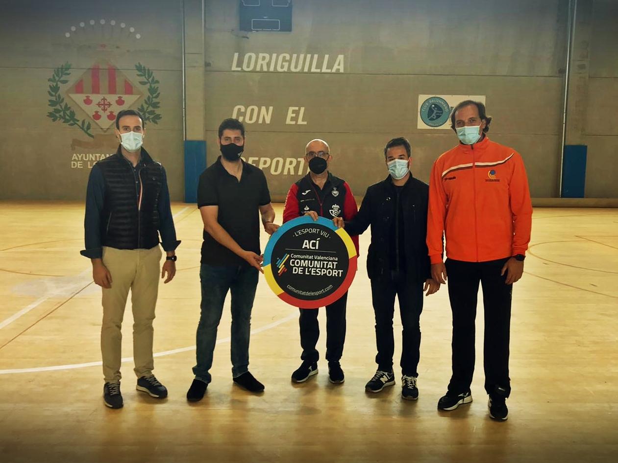 Loriguilla, sede de las jornadas de entrenamiento de las selecciones autonómicas cadete e infantil de balonmano en el marco del programa FER Futur
