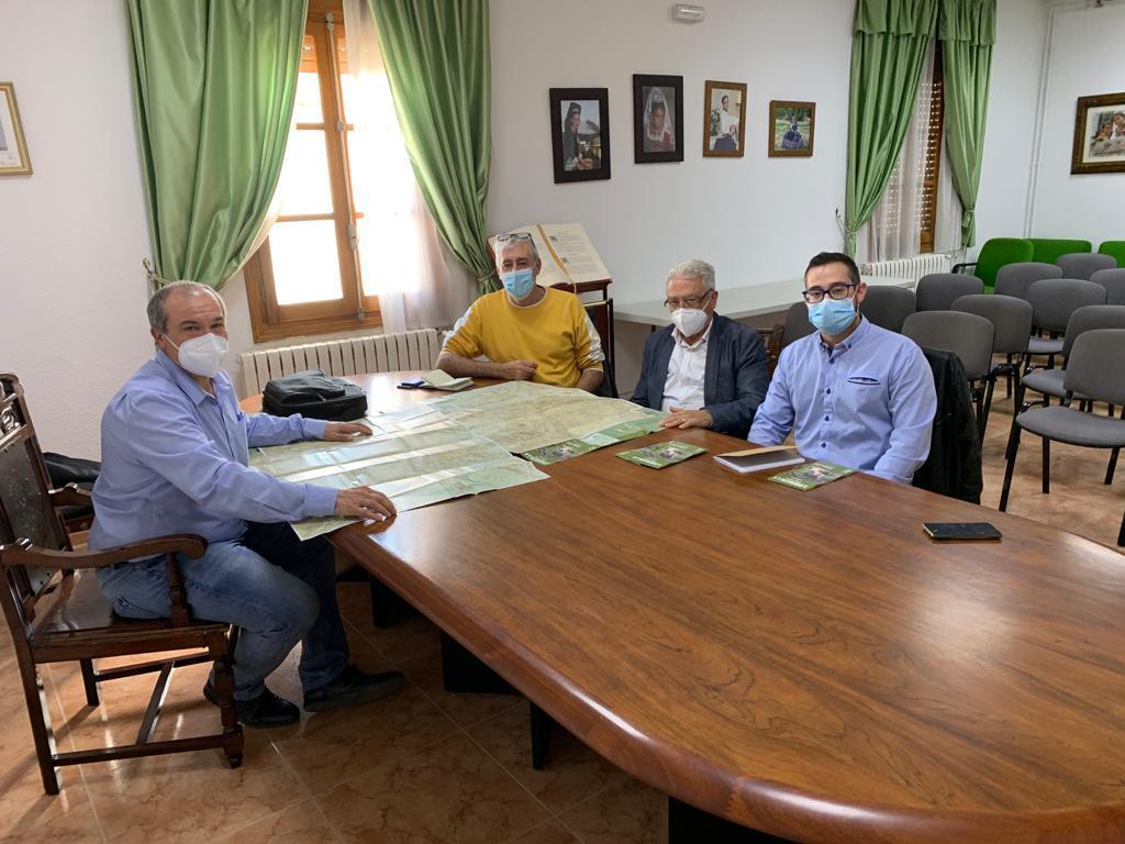 El Ayuntamiento de Loriguilla se reúne con los responsables del Parque Natural de Chera – Sot de Chera para conocer su funcionamiento
