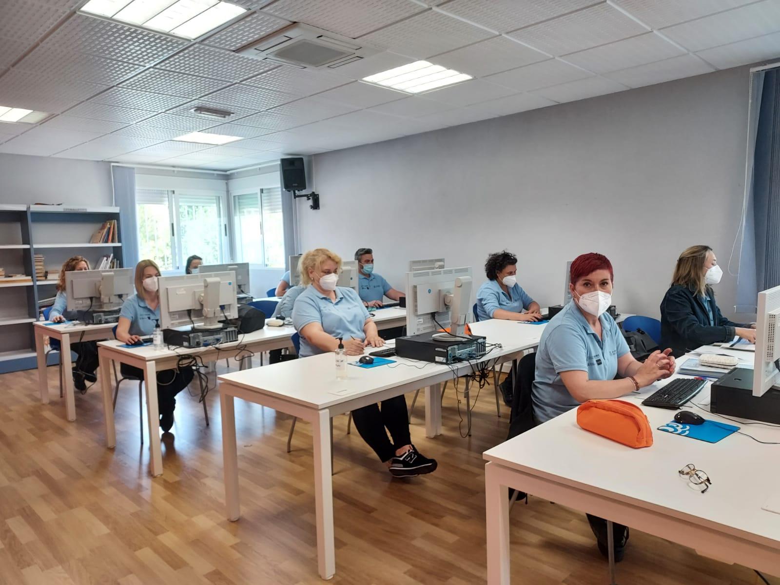 El alumnado de la especialidad de Administrativo del Taller de Empleo supera el certificado de profesionalidad nivel 1