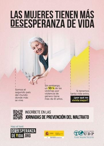 Jornadas de Prevención sobre los malos tratos y abusos a las personas mayores de UDP