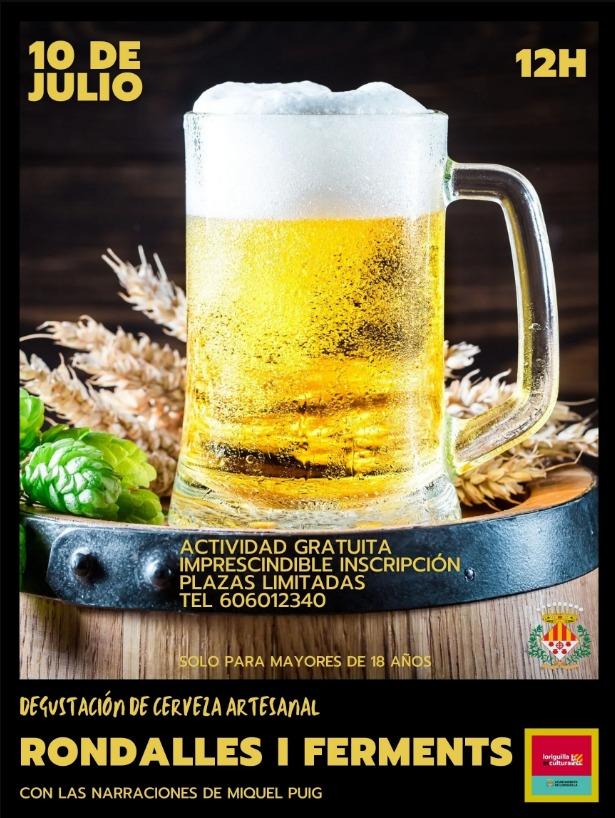 «De rondalles i ferments», un evento para el público adulto que combina narraciones y cerveza