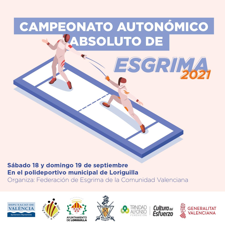 El Pabellón Municipal de Loriguilla acogerá el Campeonato Autonómico Absoluto de Esgrima