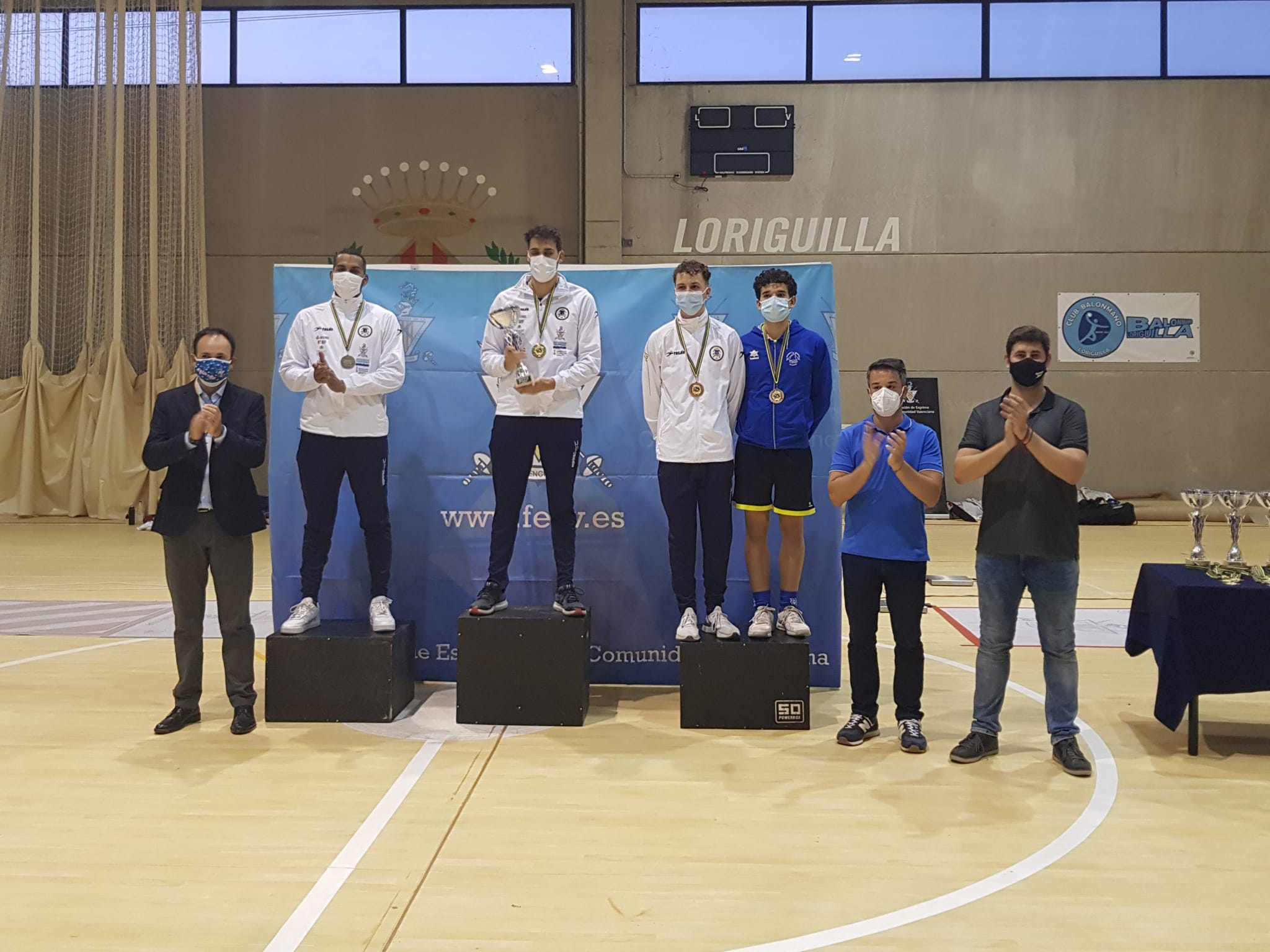 Loriguilla, sede del Campeonato Autonómico Absoluto de Esgrima 2021